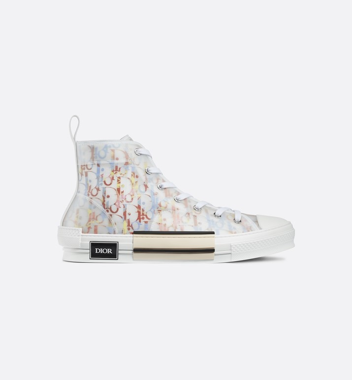 b23 high-top sneaker in multicolor dior oblique | Dior