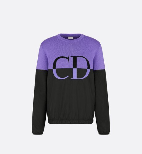 'CD' Sweater Front view
