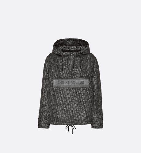 Hooded Short Anorak Front view