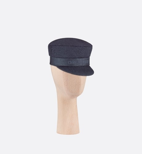 Dior Cap Hat Three quarter closed view