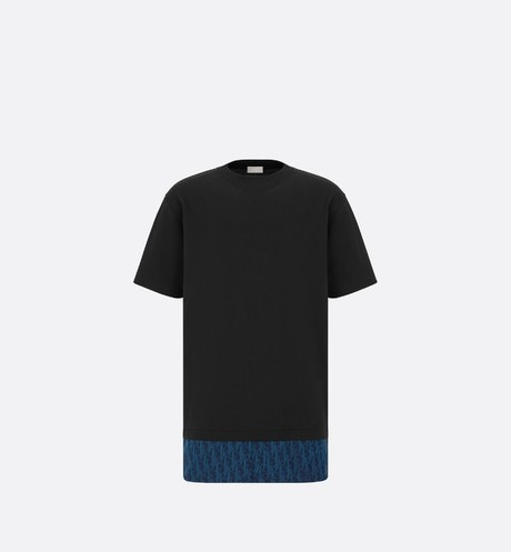 Oversized Dior Oblique T-Shirt Front view