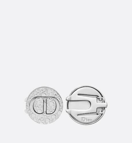 Dior Oblique Button Cover Front view