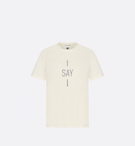 "T-shirt ""I say I"" Vue de face"