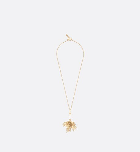 Dior Corail Long Necklace Front view