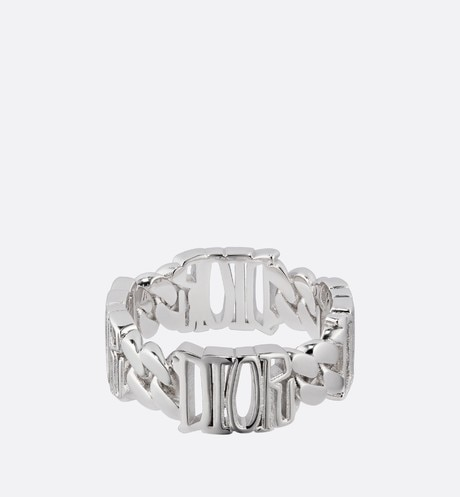DIOR AND SHAWN Chain Link Ring Front view
