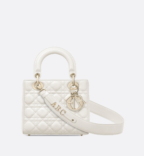 My ABCDior lambskin bag aria_frontView