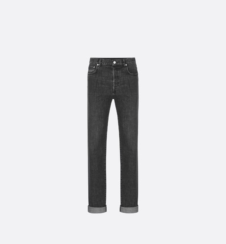 Gray Slim-Fit Jeans aria_frontView