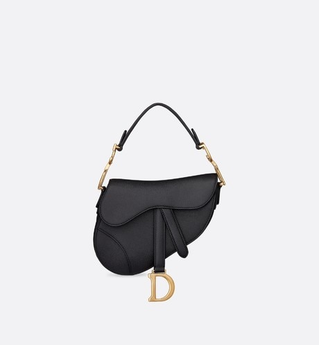 Mini Saddle calfskin bag aria_frontView