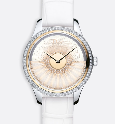 "Dior Grand Bal Plume Blanche, Ø 36 mm, automatic movement, ""Dior Inversé 11 1/2"" caliber aria_frontView"