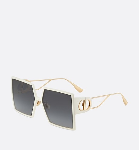 30Montaigne Ivory Square Sunglasses aria_frontView