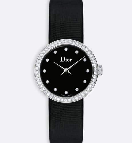 La D de Dior ø 25 mm, movimento a quartzo aria_frontView