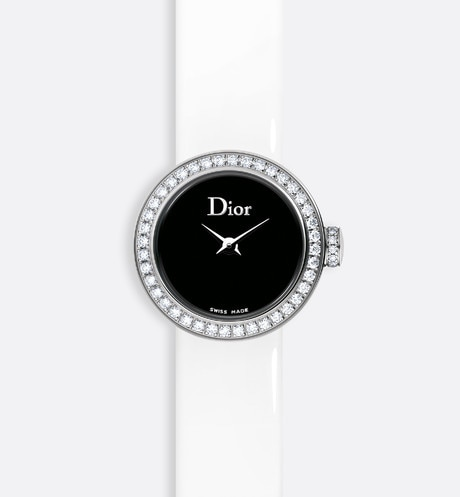 La Mini D de Dior Satine ø 19 mm, movimiento cuarzo aria_frontView