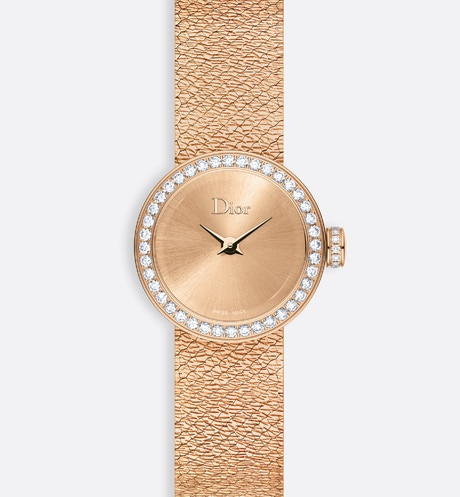 Click here to enlarge the product picture La D de Dior Mini Satine ø 19 mm, quartz movement