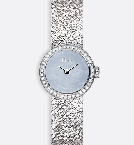 Click here to enlarge the product picture La D de Dior Mini Satine Ø 19mm, quartz movement
