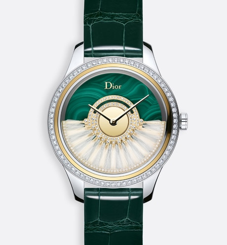 "Dior Grand Bal Plume  Ø 36mm, automatic movement, ""Dior Inversé 11 1/2"" calibre aria_frontView"