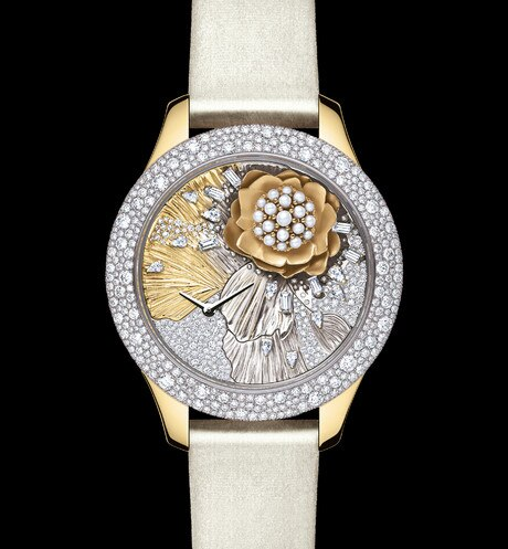 DIOR GRAND SOIR ROYAL BOTANIC N°3 Ø 36 mm, mouvement quartz aria_frontView