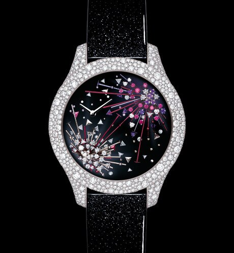 """Dior Grand Soir Feux d'artifice N°3"" 直径 36 mm、クォーツムーブメント aria_frontView"