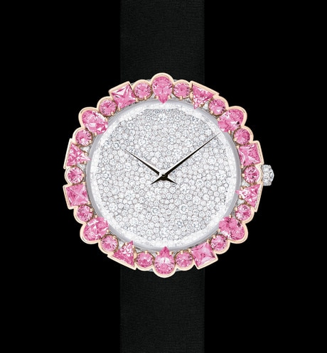 La D de Dior Cocotte Ø 38 mm, mouvement quartz aria_frontView