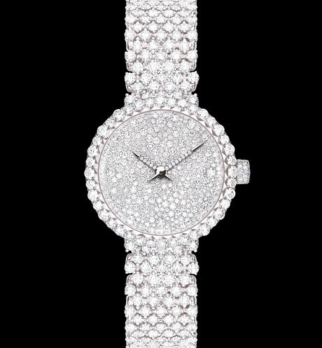 La D de Dior  Abeille Ø 25 mm, mouvement quartz aria_frontView