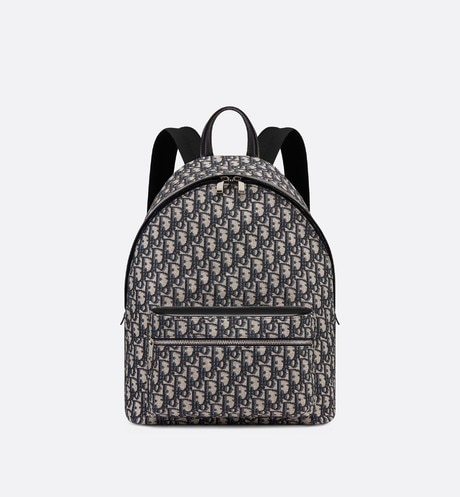 Dior Oblique backpack front view