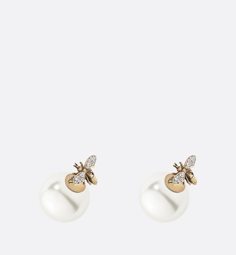Dior Tribales earrings White aria_frontView