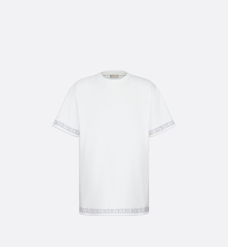 DIOR AND SHAWN Oversized T-Shirt Front view
