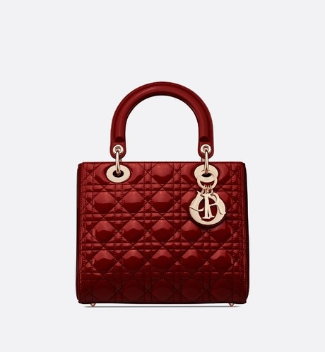 Medium Lady Dior Bag Front view