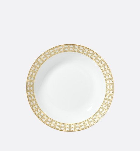 Cannage Montaigne soup plate aria_frontView