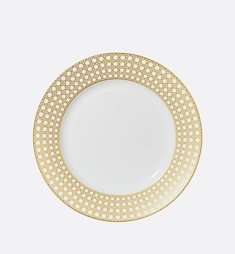 Cannage Montaigne dinner plate aria_frontView