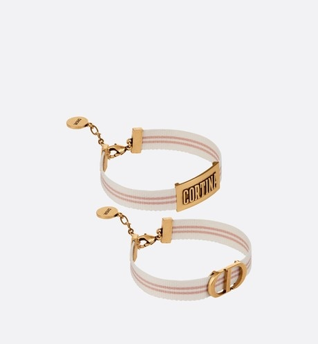 Dior Beach 'Cortina' Bracelet Set front view