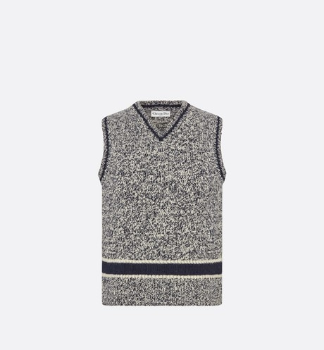 V-Neck Sleeveless Sweater Front view