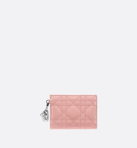 Click here to enlarge the product picture Lady Dior calfskin card holder
