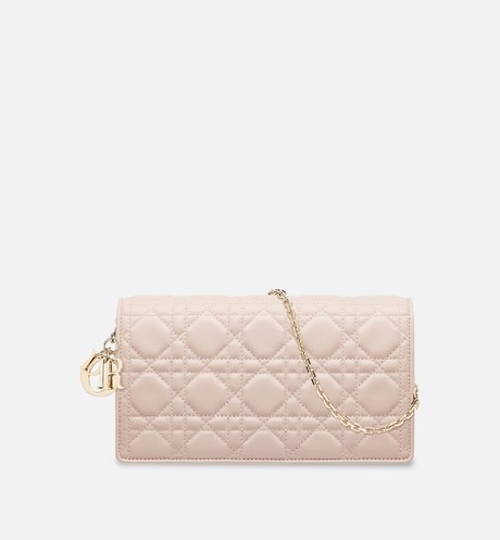 Click here to enlarge the product picture Lady Dior lambskin clutch