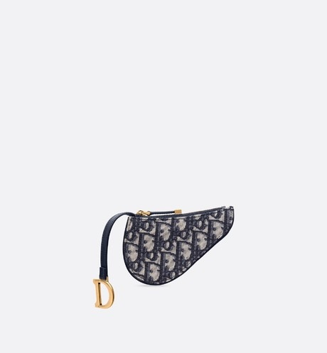 Dior Oblique Saddle purse aria_frontView