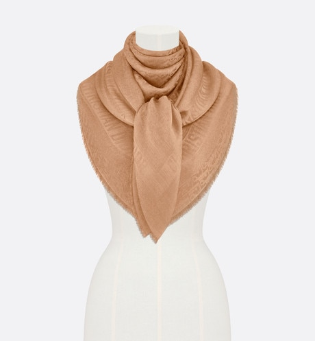 Dior Oblique Shawl Front view