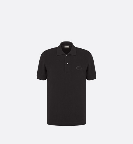 'CD Icon' Polo Shirt Front view
