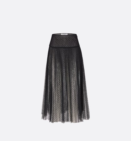 Click here to enlarge the product picture Tulle pleated skirt