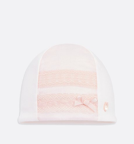 Cotton voile and interlock hat aria_frontView