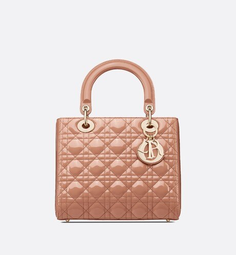Borsa media Lady Dior aria_frontView