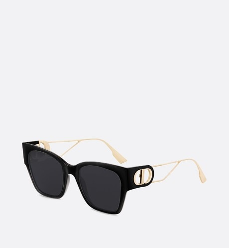 Click here to enlarge the product picture 30Montaigne1 Black Rectangular Sunglasses