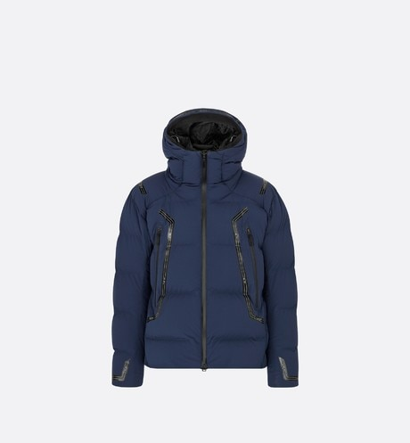 DIOR AND DESCENTE Hooded Down Jacket Front view
