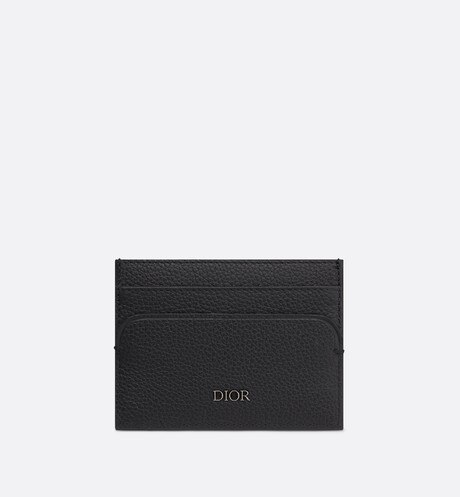 Click here to enlarge the product picture Black Calfskin Card Holder