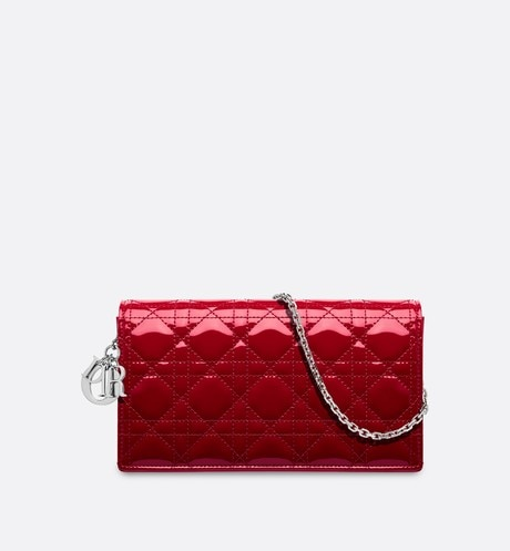 Click here to enlarge the product picture Lady Dior calfskin clutch