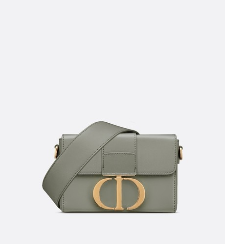Gray Stone 30 Montaigne Box Calfskin Bag
