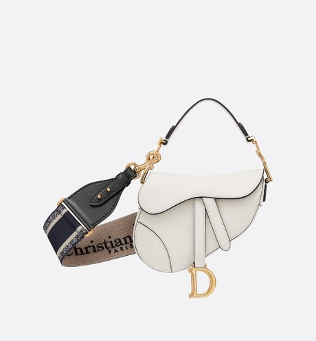 Mini Saddle calfskin bag aria_detailedView 2