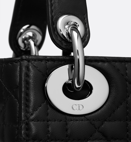 Mini Lady Dior lambskin bag aria_detailedView 2