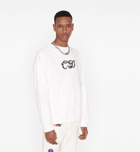 Oversized DIOR AND KENNY SCHARF Sweatshirt Worn view cropped Open gallery