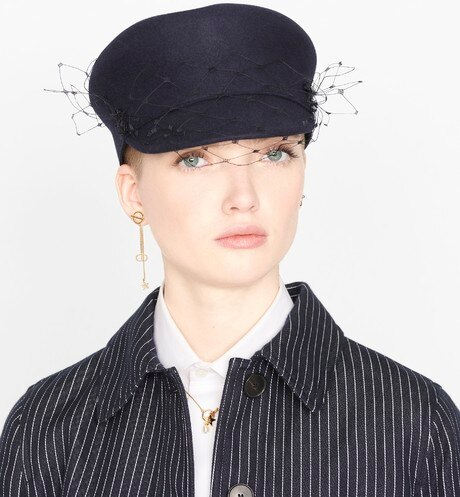 Dior Parisian Baseball Cap Worn view cropped Open gallery