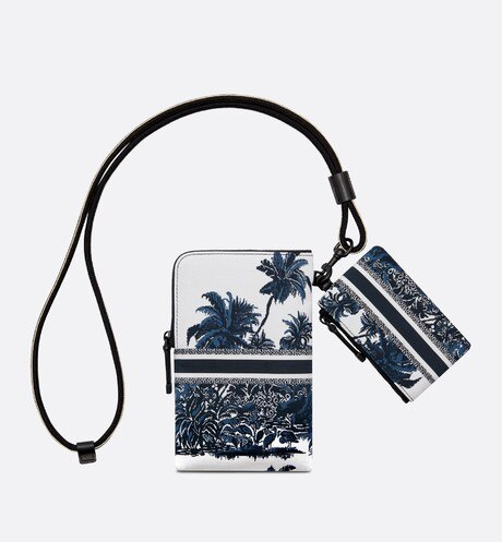 DiorTravel Multifunctional Pouch Worn view cropped Open gallery