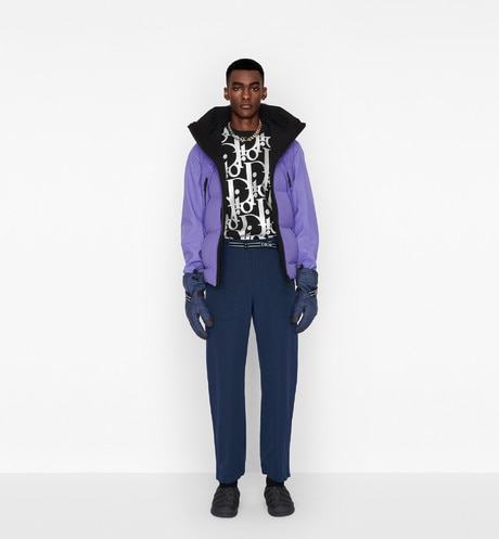 DIOR AND DESCENTE ダウンジャケット aria_wornViewCropped aria_openGallery